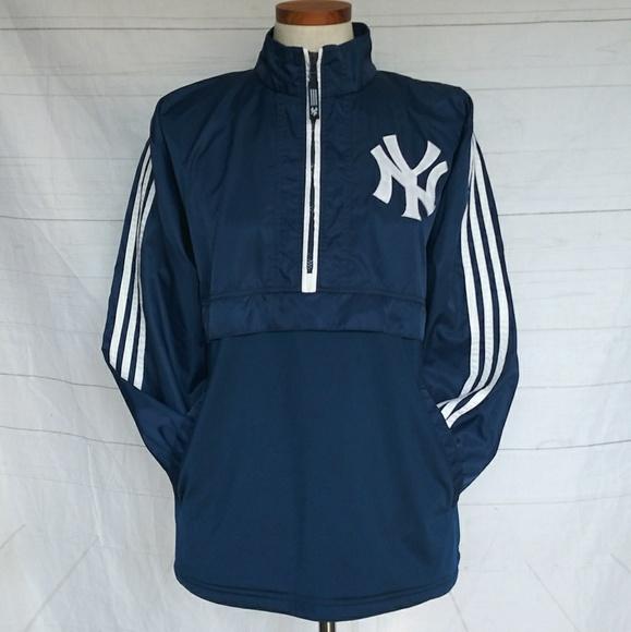 New York Yankees Windbreaker Pullover GUC